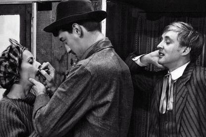 Jeanne Moreau, Henri Serre, Oskar Werner dans Jules et Jim