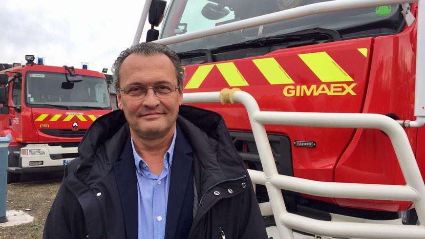 Serge Vadon le directeur de l'usine Gimaex de Roanne