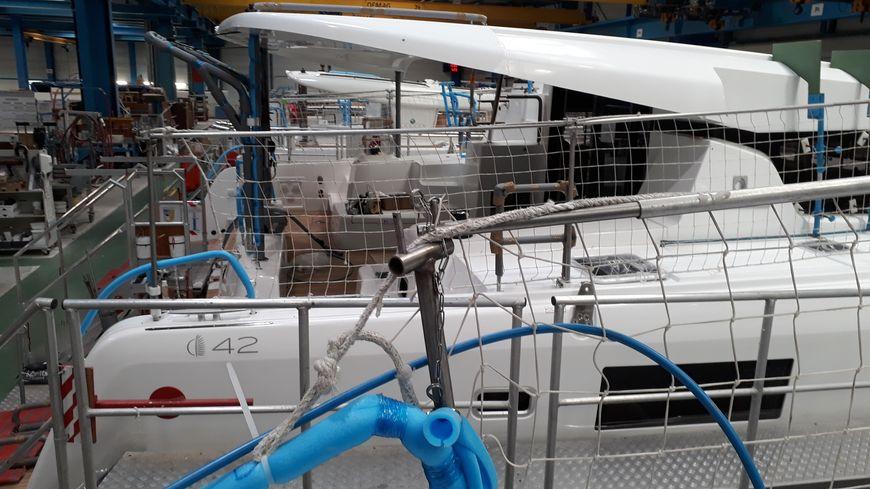 Les catamarans Lagoon de moins de 45 pieds, fabriqués à Belleville-sur-Vie