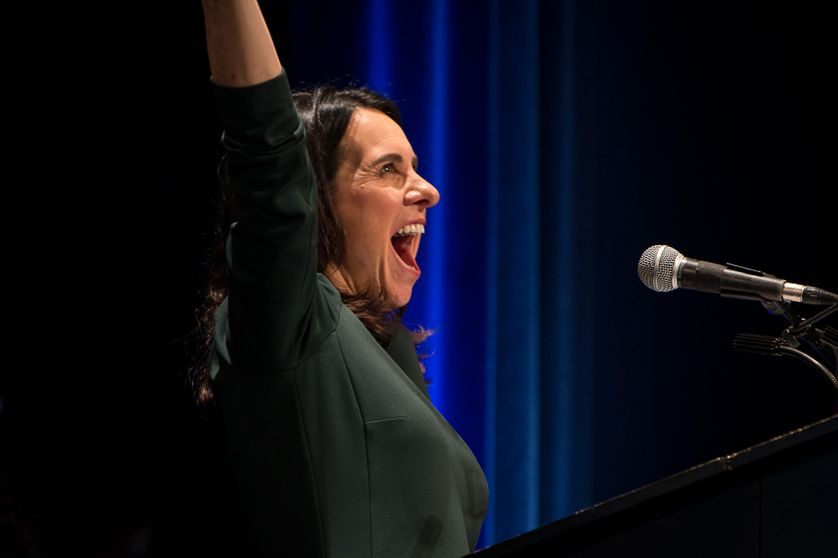 Valérie Plante, élue à la mairie de Montréal