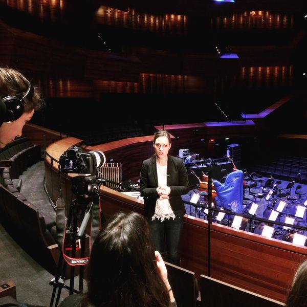 La cheffe canadienne Dina Gilbert participe pour la deuxième fois au projet