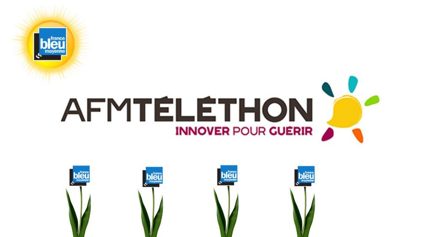 France Bleu Mayenne se mobilise pour le Téléthon