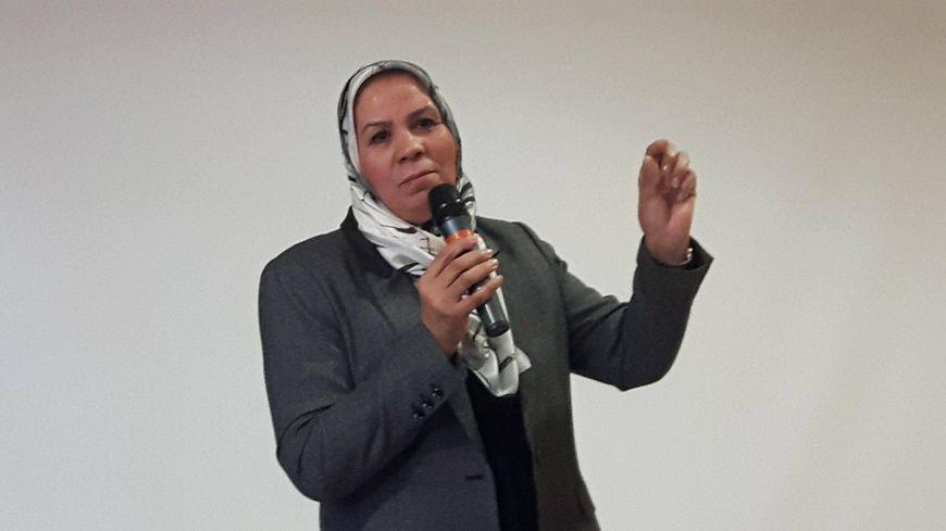 Latifa Ibn Ziaten au collège Jules Ferry de Woippy