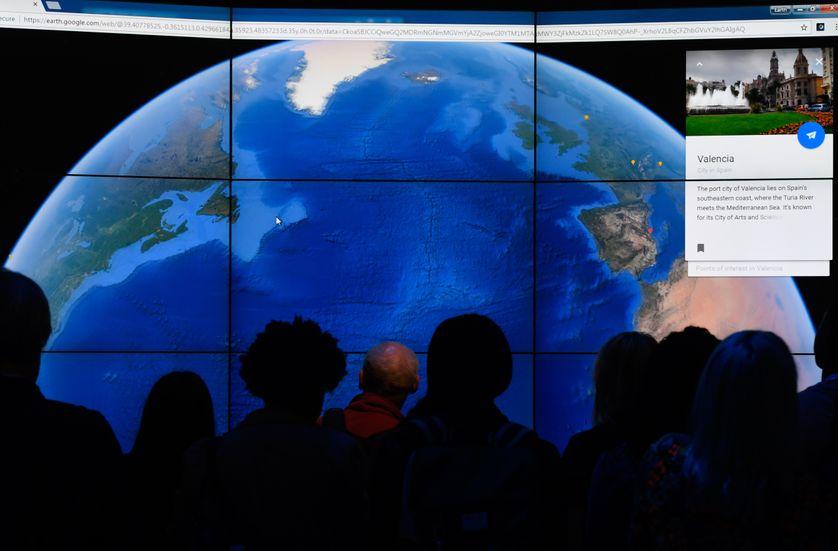 La Terre vue depuis... Google Earth