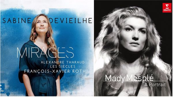 Publiés chez Erato, le nouvel album de Sabine Devieilhe et le coffret de 4CD de Mady Mesplé.