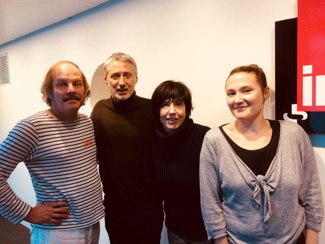 Philippe Katerine et Sharleen Spiteri invités d'Antoine de Caunes et Charline Roux