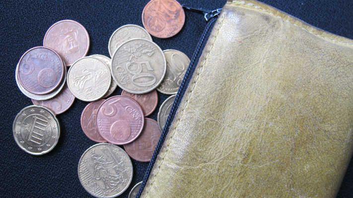 Un porte-monnaie