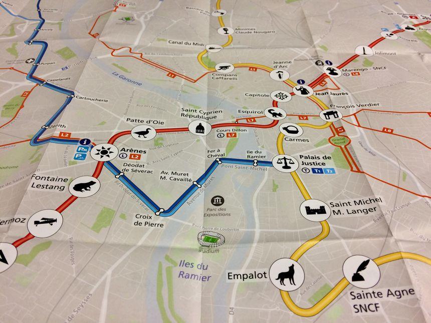 La future 3e ligne de métro de Toulouse aura aussi ses dessins pour chacune des stations.