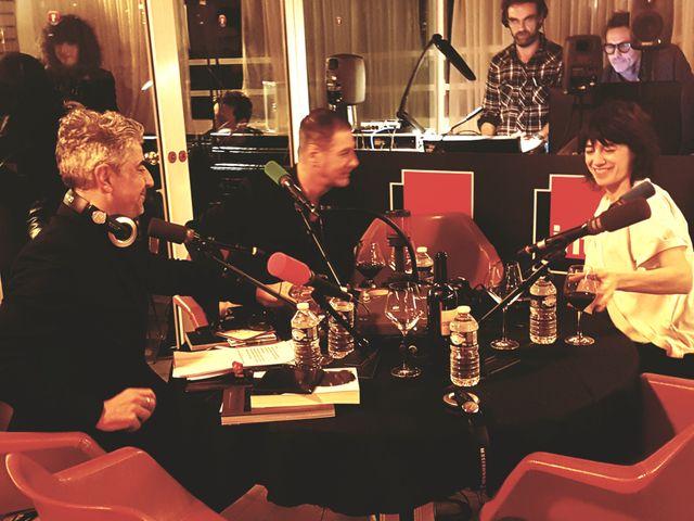 Charlotte Gainsbourg, Etienne Daho & Didier Varrod