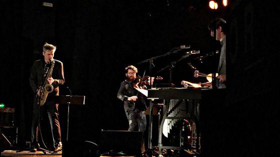 """Daniel Erdmann """"Velvet Revolution"""" avec Cyril Atef au Fossé des Treize à Strasbourg mercredi 15 novembre 2017"""