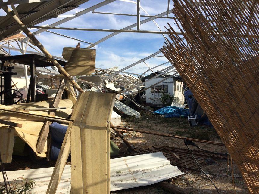 Après le passage de la mini tornade à Hyères, les dégâts sont importants