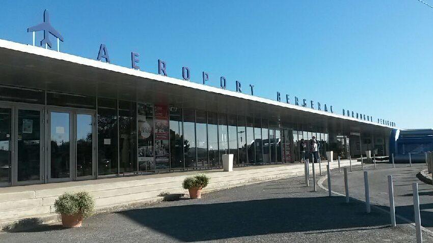 L'aéroport de Bergerac.