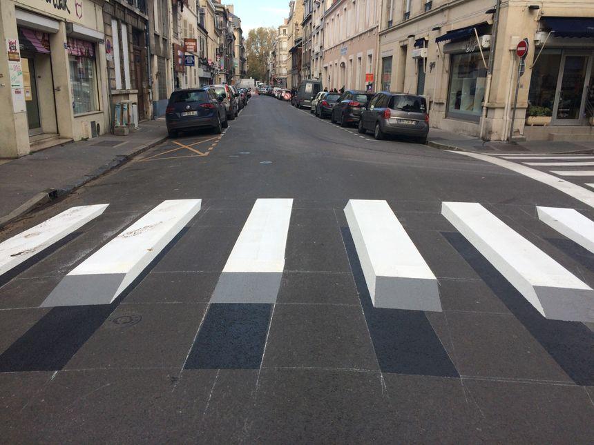 Rue des Poissonniers à Reims