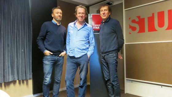 France Musique, studio 131... Pierre Souchon, Benoît Duteurtre & Alain Souchon