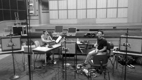 Eloïse Labaume et Aurélio Edler-Copes au studio 106
