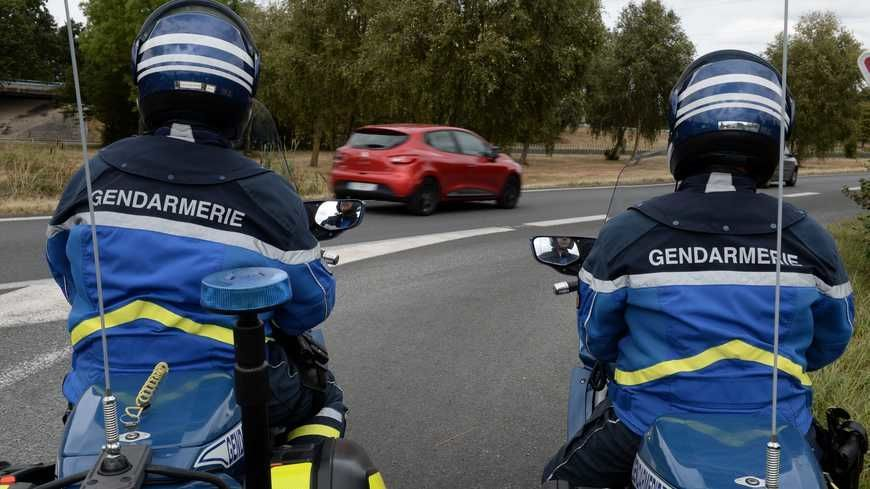 Lors d'un contrôle routier de la gendarmerie (Illustration)