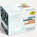 Boston Symphony Orchestra - Complete recordings on Deutsche Grammophon