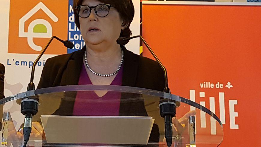 Martine Aubry, la maire PS de Lille