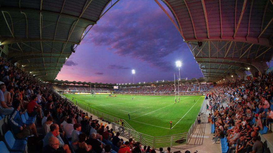 Le stade Aimé-Giral