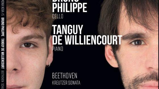 Tanguy de Williencourt et Bruno Philippe © Harmonia Mundi