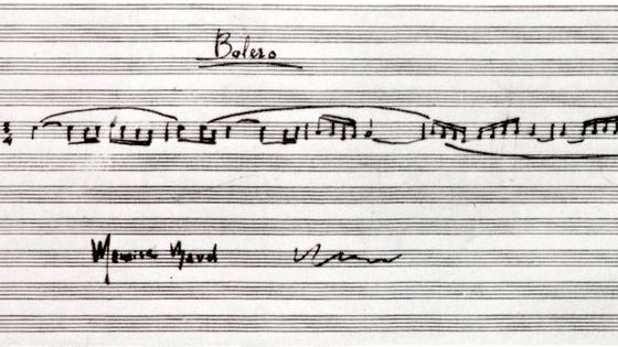 Partition du Boléro de Maurice Ravel