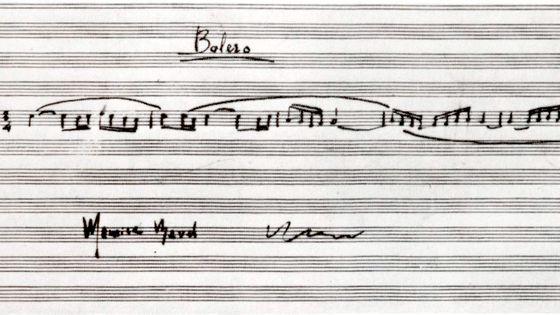 Partition du Boléro de Maurice Ravel