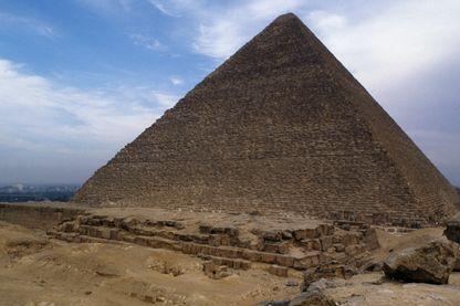 Pyramide de Kheops - Nécropole de Gizeh