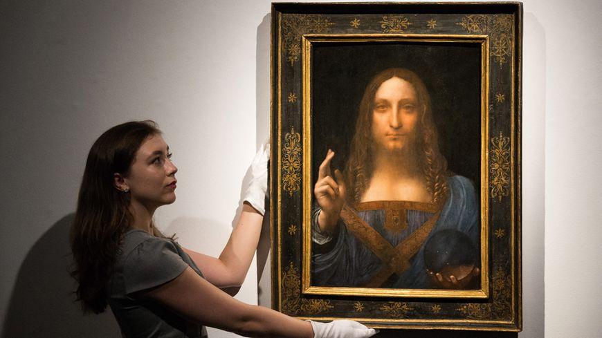 """Le """"Salvator Mundi"""" de Léonard de Vinci est mis à prix à 100 millions de dollars"""