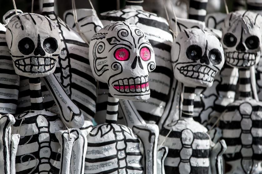 Le jour des Morts au Mexique