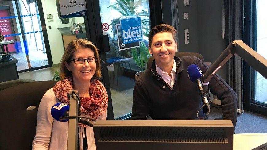 Laure Belliard et Vincent Stella
