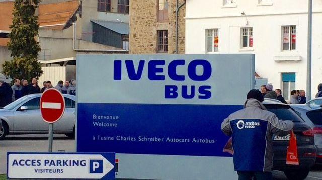 L'usine Iveco Bus à Annonay (image d'archives)