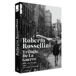 Coffret DVD Roberto Rossellini: La trilogie de la guerre