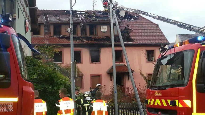 Le feu s'était déclaré le 4 novembre au 12 rue de la paix à Riedisheim