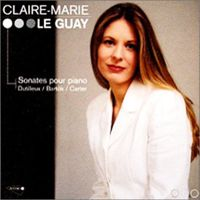 Sonate pour piano de Dutilleux par Claire-Marie Le Guay