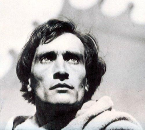 "Antonin Artaud dans ""La Passion de Jeanne d'Arc"""