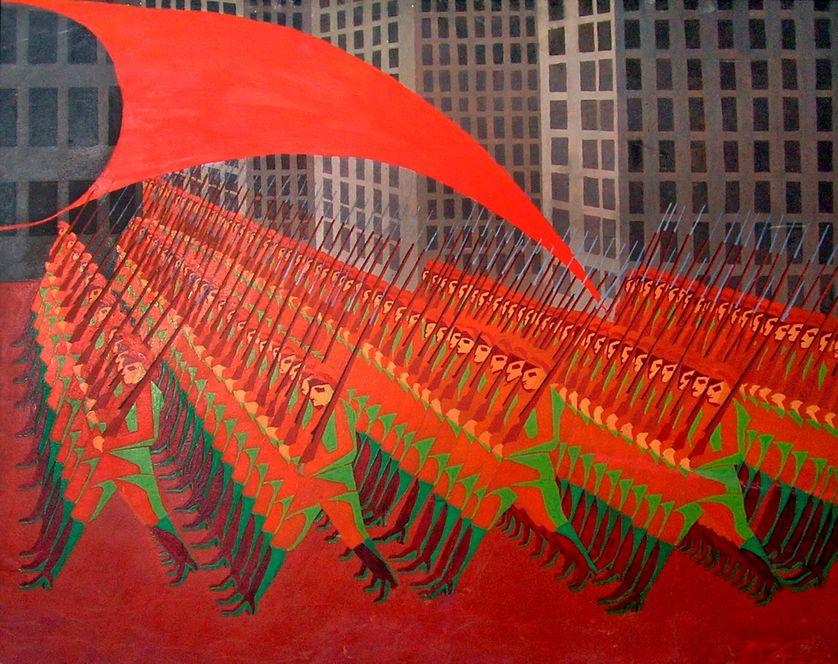 L'Armée rouge, collection du musée de Kasan, en Russie