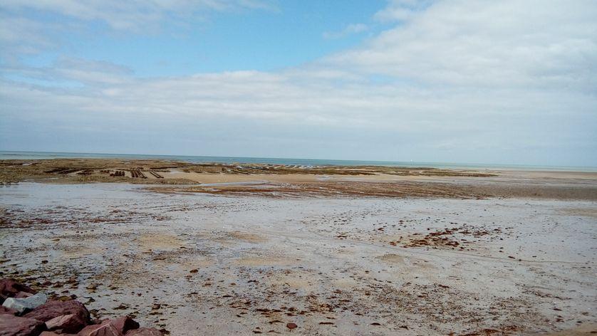 Plage normande de Blainville sur Mer