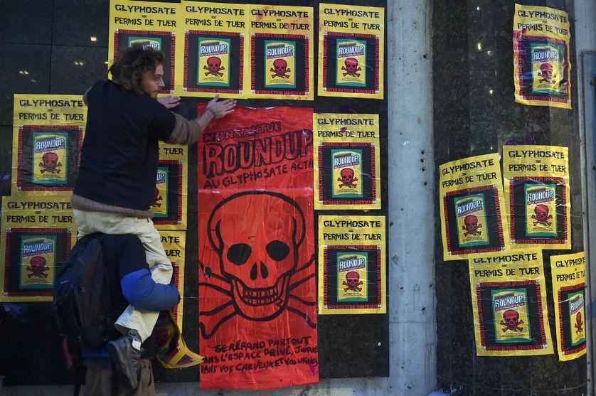 Manifestation contre l'utilisation du Glyphosate le 22 novembre 2017 à Toulouse