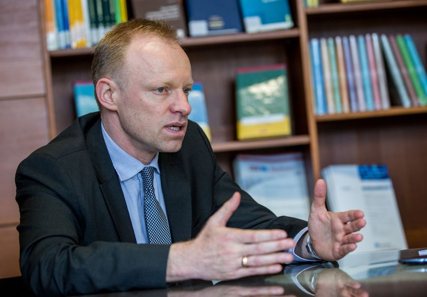 Clemens Fuest, le nouveau président de l'IFO, observe une nette amélioration du climat des affaires dans le monde.