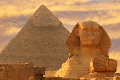 Pyramide de Khéops en Egypte