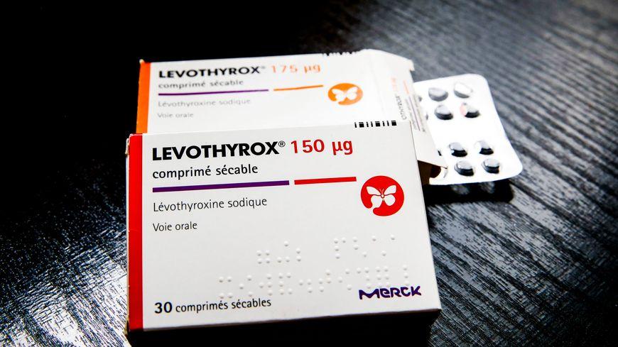 Le médicament contre les troubles de la thyroïde (illustration)