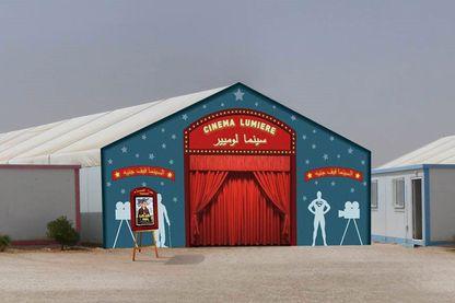 Lumière à Zaatari