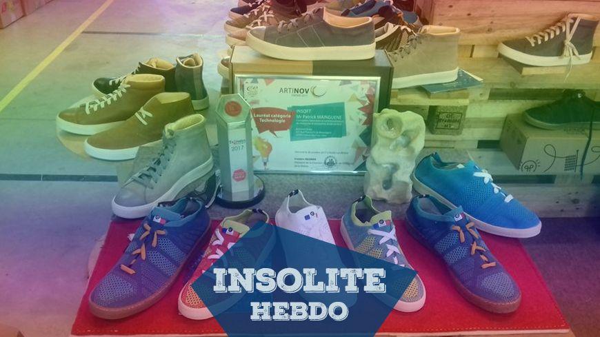 Drôme : l'entreprise Insoft invente une chaussure tricotée, recyclée et recyclable
