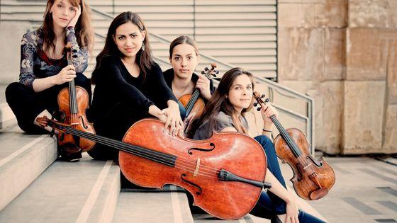 Le Quatuor Zaïde © Abbayeauxdames.org
