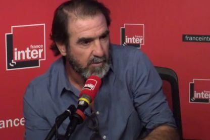 Eric Cantona vient présenter son nouveau livre