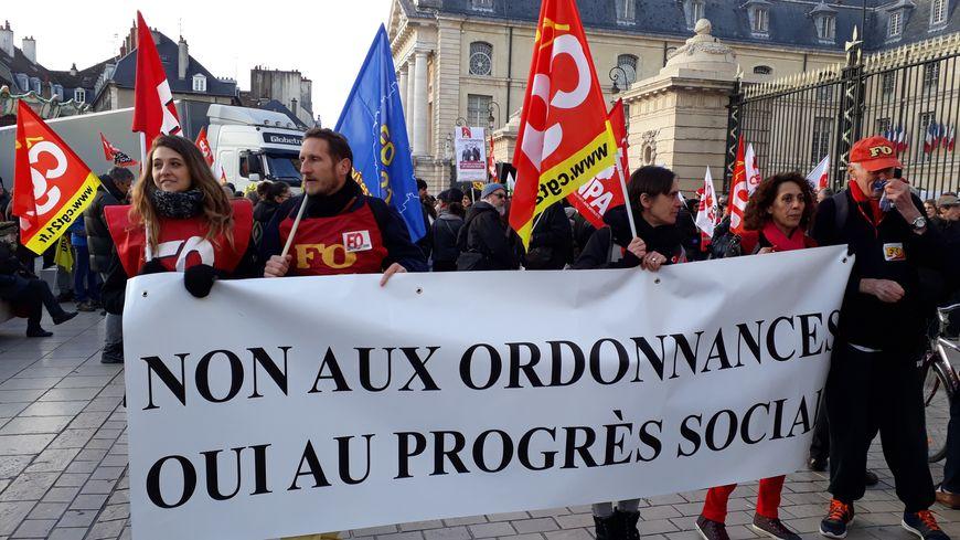 C'est la quatrième mobilisation depuis la rentrée contre la politique libérale et les ordonnances du gouvernement Macron