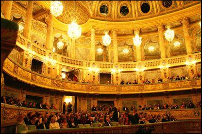 L'Opéra Royal du Château de Versailles.