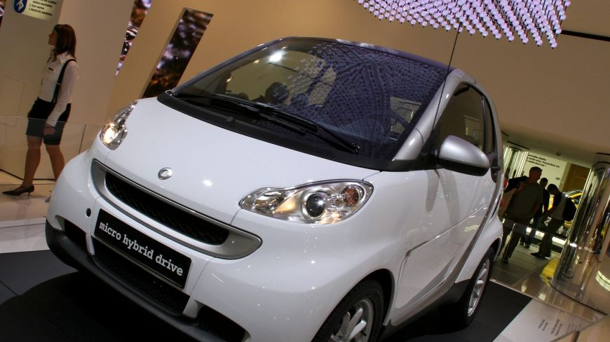 La Smart Fortwo II présentée au salon automobile de Francfort