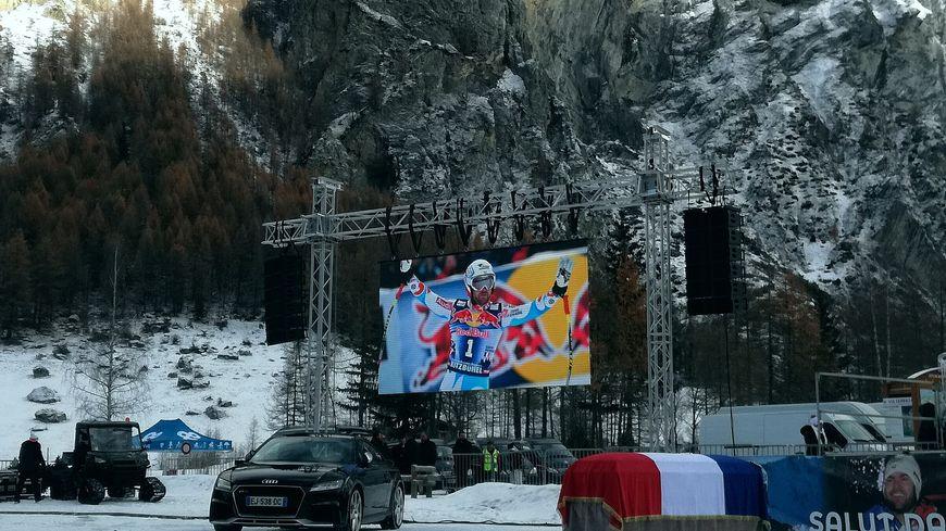 Un écran géant pour un géant du ski