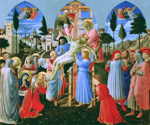 La Descente de Croix 1432-1434, Fra Angelico